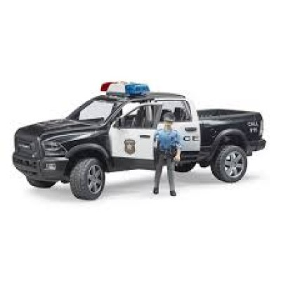 CAMION POLICE DODGE RAM AVEC FIGURINE