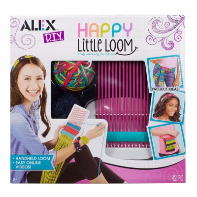 ENSEMBLE DE TISSAGE HAPPY LITTLE LOOM