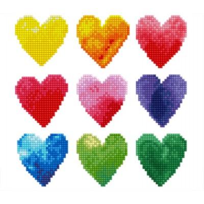 TOILE DIAMAMNT / LOVE RAINBOW