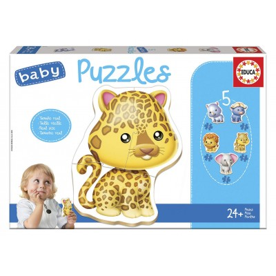 PZ BEBE / 1X5 ANIMAUX SAUVAGES
