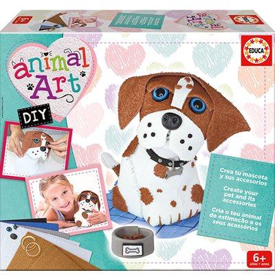 ANIMAL ART DIY/CHIOT