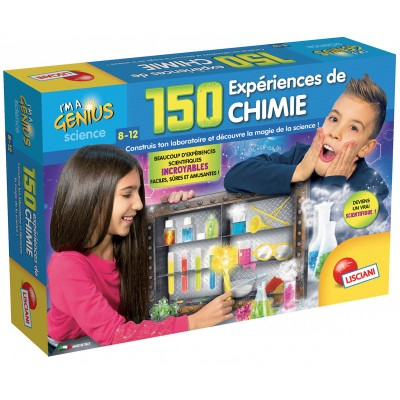 I'M A GENIUS / 150 EXPERIENCES DE CHIMIE