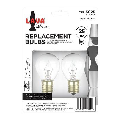 AMPOULE LAVA LAMP 14.5''