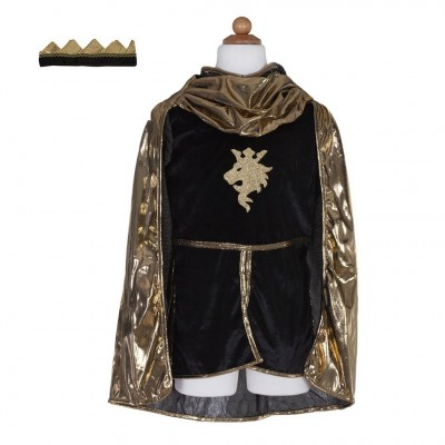 COSTUME CHAVALIER MAILLE OR