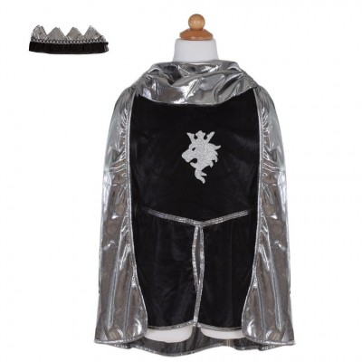 COSTUME CHEVALIER MAILLE ARGENT