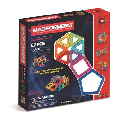 MAGFORMERS 62 PCES