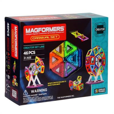 MAGFORMERS CARNIVAL 46 PCES