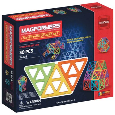MAGFORMERS SUPER 30 PCES