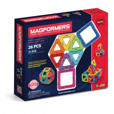 MAGFORMERS BASIC 26 PCES