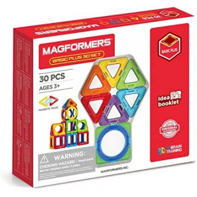 MAGFORMERS BASIC 30 PCES