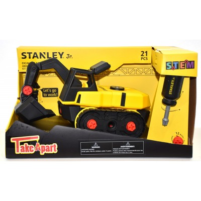STANLEY EXCAVATRICE TAKE A PART