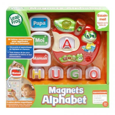 MAGNETS ALPHABET POMME