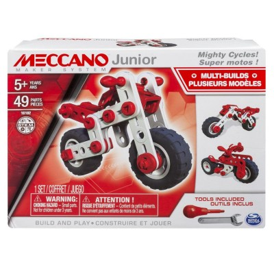 MECCANO JUNIOR SUPER MOTOS