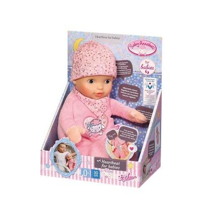 BABY ANNABELL NOUVEAU NE HEARTBEAT