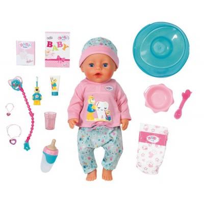 BABY BORN POUPEE DE BAIN INTERACTIVE
