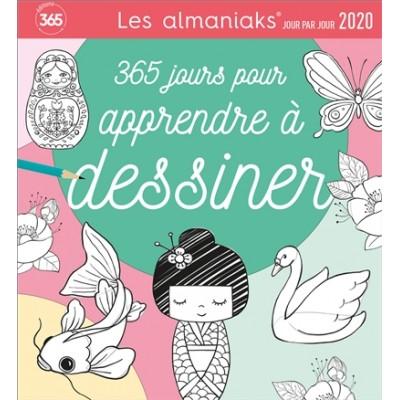 ALMANIAK ACTIVITÉS 365 JOUR POUR APPRENDRE à DESSINER 2020