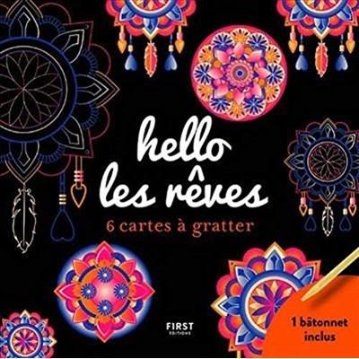 HELLO LES RÊVES/6 CARTES À GRATTER