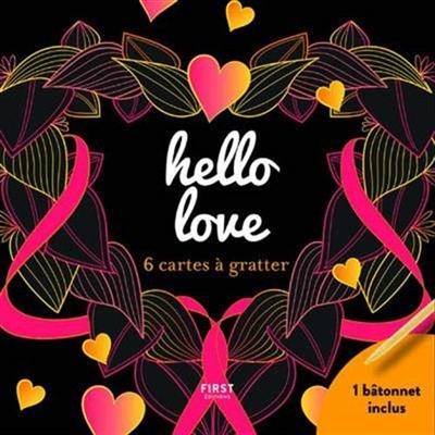 HELLO LOVE/6 CARTES À GRATTER