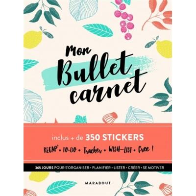 MON BULLET CARNET/AVEC 350 STICKERS