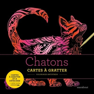 CARTES A GRATTER CHATONS