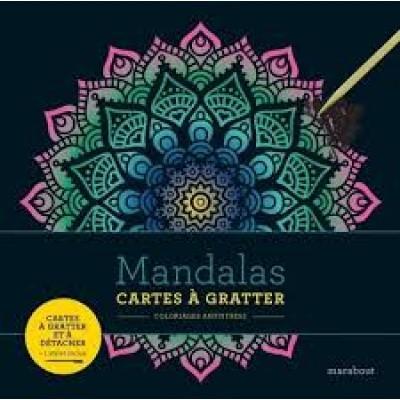 MANDALAS/CARTES A GRATTER