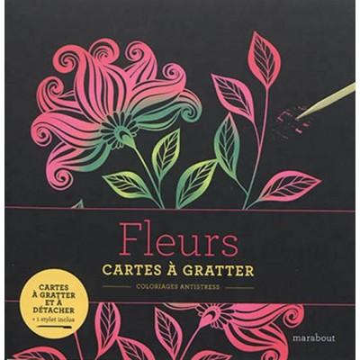 FLEURS/CARTES A GRATTER