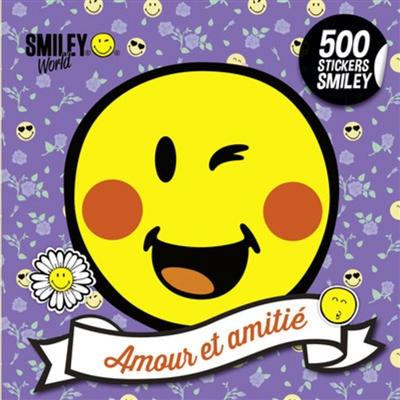 AMOUR ET AMITIÉ/500 STICKERS SMILEY
