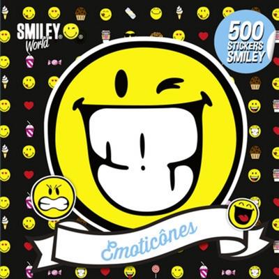 ÉMOTICÔNES/500 STICKERS SMILEY