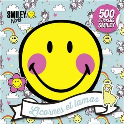 LICORNES ET LAMAS/500 STICKERS SMILEY
