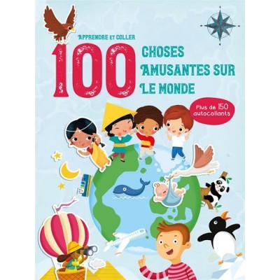 100 CHOSES AMUSANTES SUR LE MONDE AUTOCOLLANTS