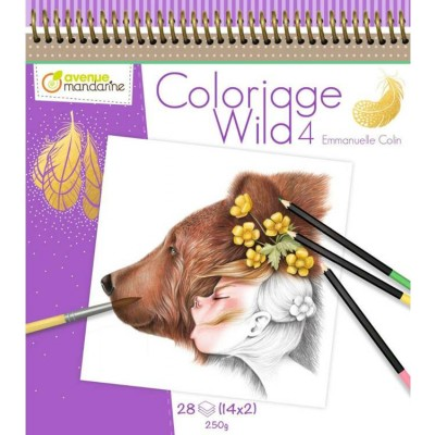 COLORIAGE WILD 4