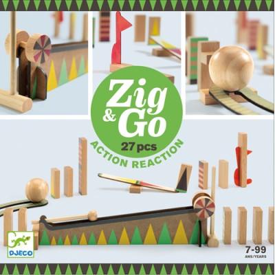 ZIG AND GO / 27PCS