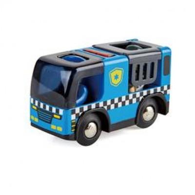 AUTO DE POLICE AVEC SIRENE