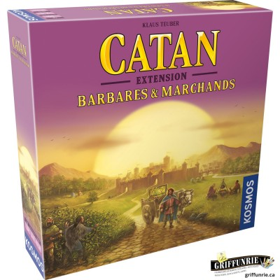 CATAN EXT BARBARES & MARCHANDS