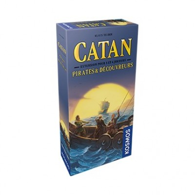 CATAN EXT PIRATES 5-6 JOUEURS