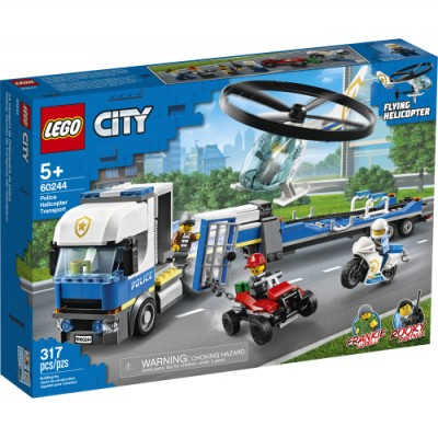 CITY TRANSPORT DE L'HELICOPTERE DE LA POLICE