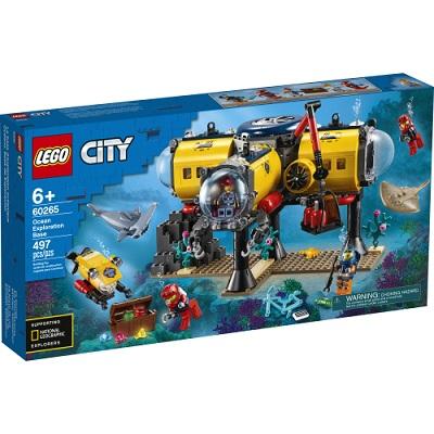 CITY BASE D'EXPLORATION OCEANIQUE