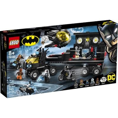 BATMAN BASE MOBILE DE BATMAN