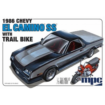 CHEVY EL CAMINO SS 1986 AVEC MOTO