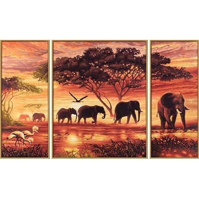 CARAVANE D'ELEPHANTS