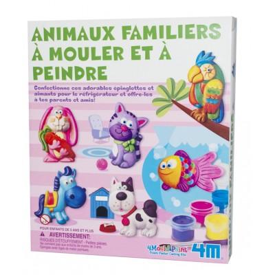 ANIMAUX FAMILIERS A MOULER ET A PEINDRE