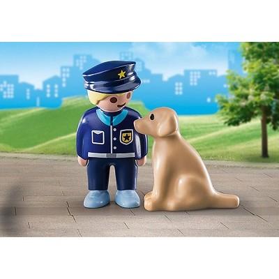 1.2.3 / POLICIER AVEC CHIEN