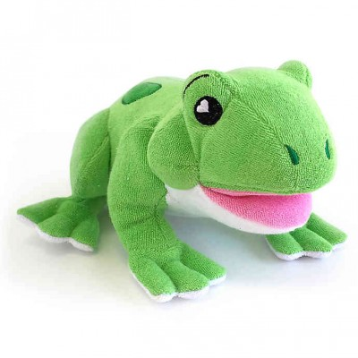 PELUCHE EPONGE WILLIAM LA GRENOUILLE