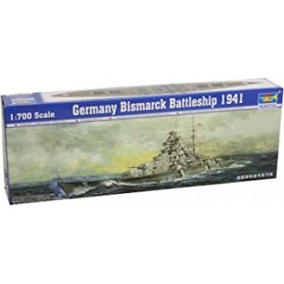 BISMARCK ALLEMAND 1941 1/700